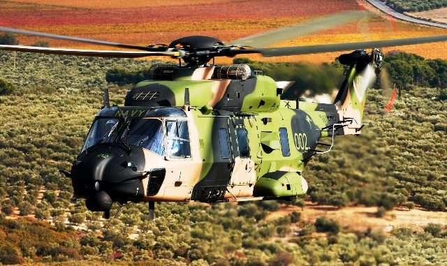 elicotteri leonardo australia