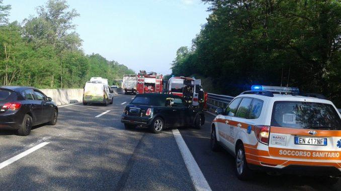 bennate incidente autostrada