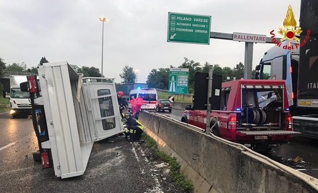 astuti superstrada malpensa incidenti