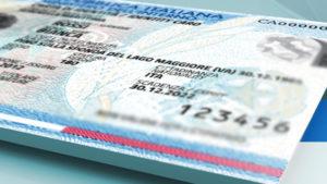carta identità cardano