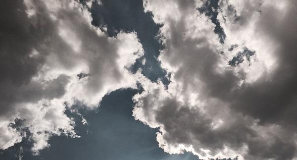 aumento nuvolosità temporali