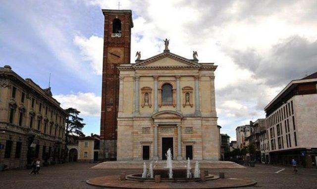 basilica San cristoforo patrono gallarate