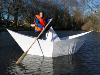 naviglio barche cartone