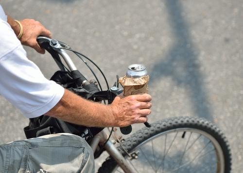 castellanza ubriaco bicicletta