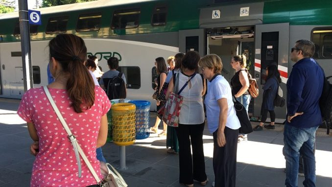 circolazione treni ritardi