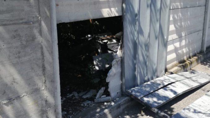 discarica castellanza rottami