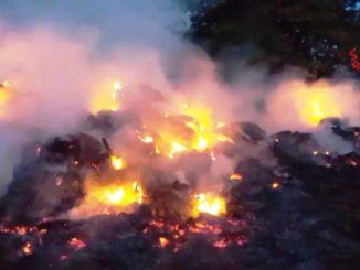 incendio sesto calende