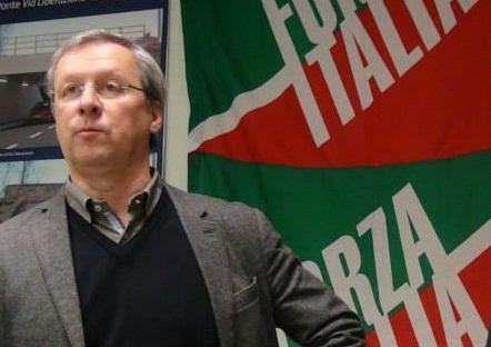 forza italia pedroni bandiera somma