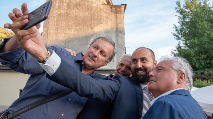 inaugurazione nuova sede forza italia