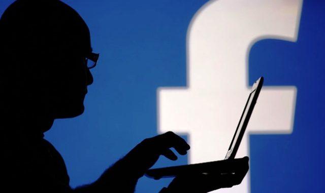 minaccia vigili facebook