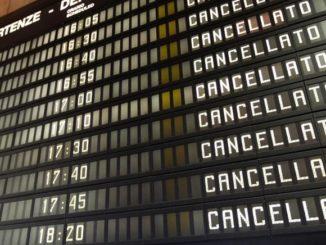 volo cancellato avvocato