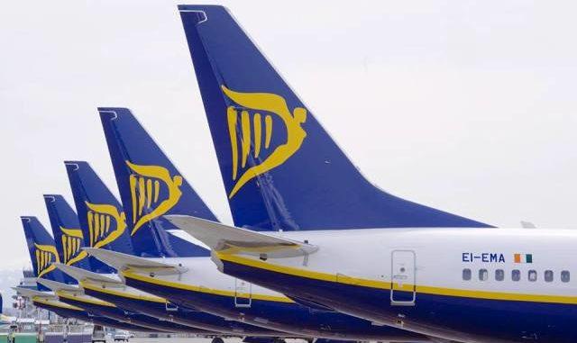 Ryanair malpensa rotte