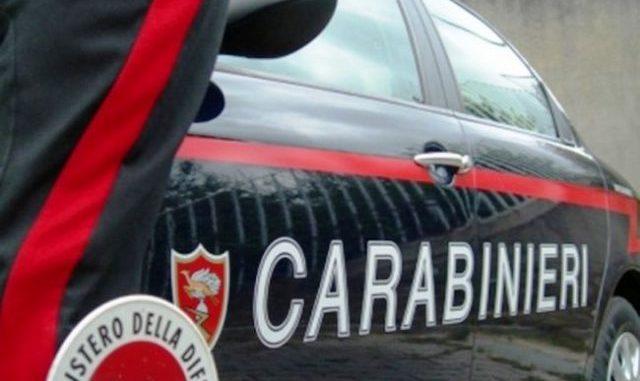 Cassano brucia bicicletta vendetta carabinieri