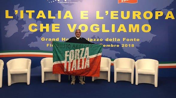 bandiera forza italia