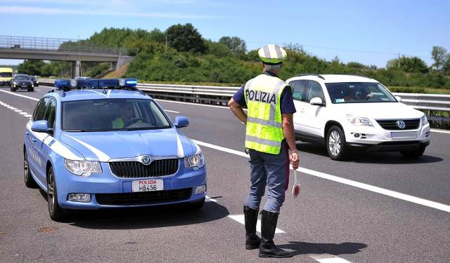 polizia stradale sicurezza