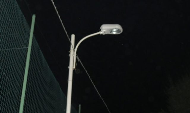 samarate buio lampioni