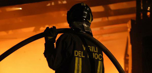 vergiate incendio appartamento