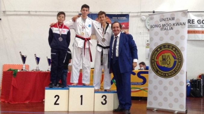 lonate medaglie taekwondo