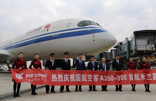 Air china malpensa
