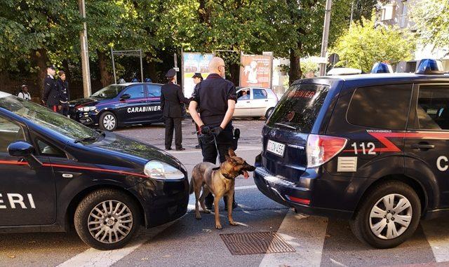 somma pusher arrestato carabinieri