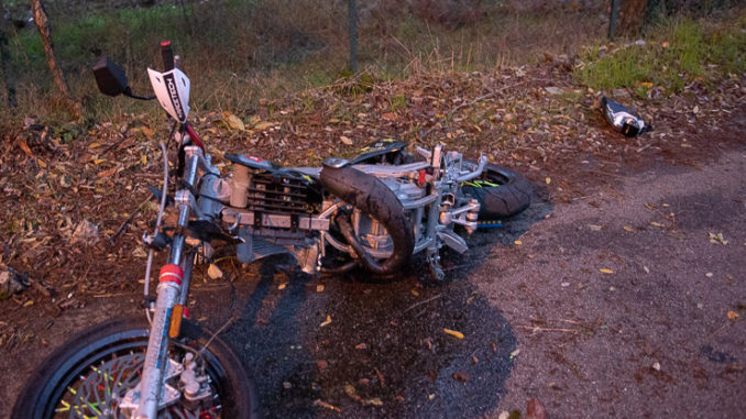 busto incidente scooter