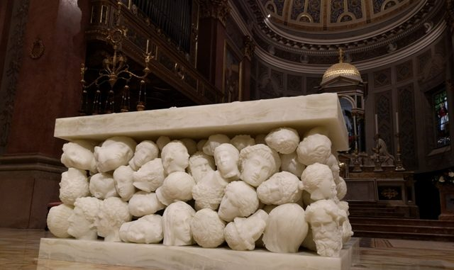altare basilica gallarate