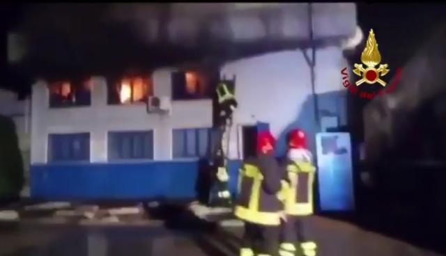 vanzaghello incendio dolo