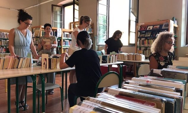 busto biblioteca utenti