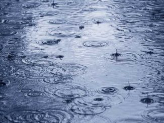 pioggia clima mite