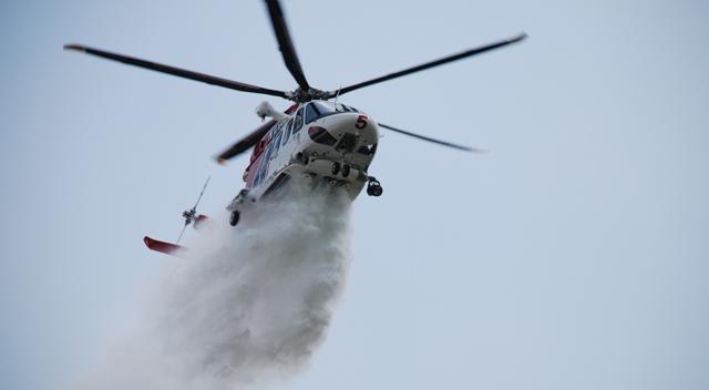 Incendio elicottero leonardo