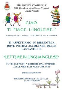 lonate inglese biblioteca