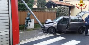 samarate incidente semaforo