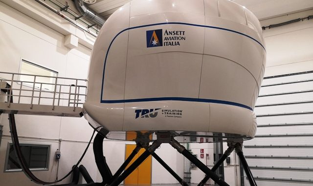simulatore volo canadair
