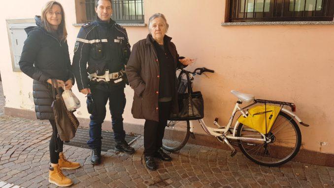 castano furto bicicletta