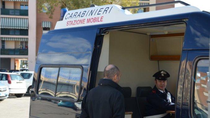 canegrate stazione mobile carabinieri