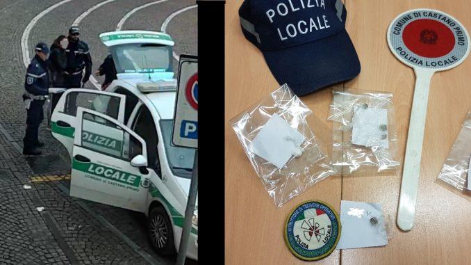 castano polizia droga