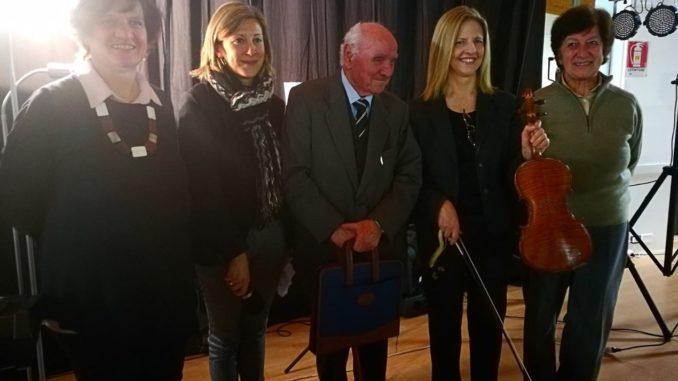 castellanza violino shoah