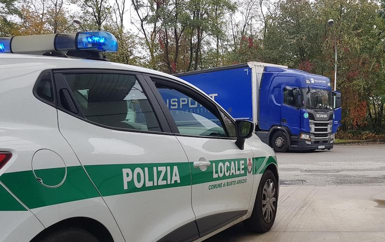 strade busto camionisti
