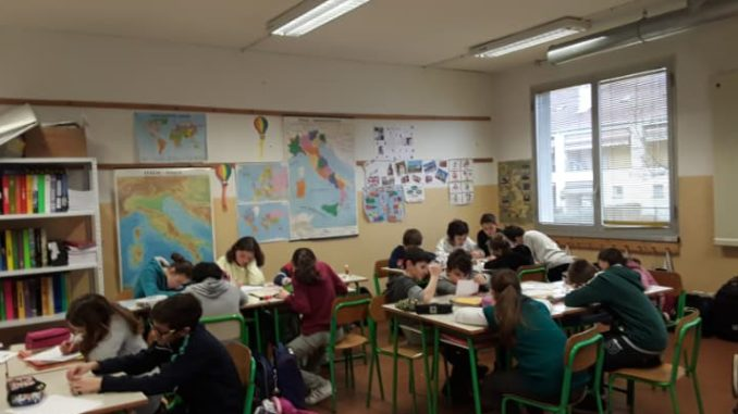 scuole classi vergiate alunni
