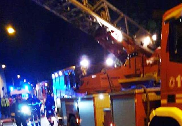 gallarate incendio mansarda