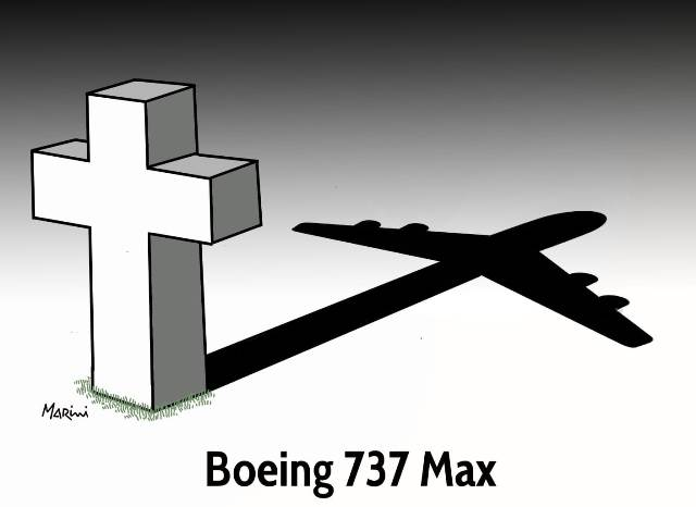 incidente boeing marini
