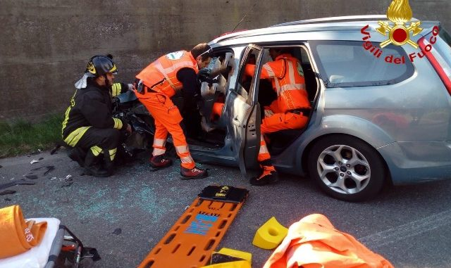 besnate incidente ferite gallarate