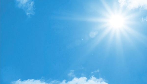 cielo sereno influenza anticiclone