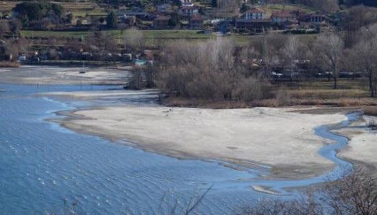 siccità laghi lombardi