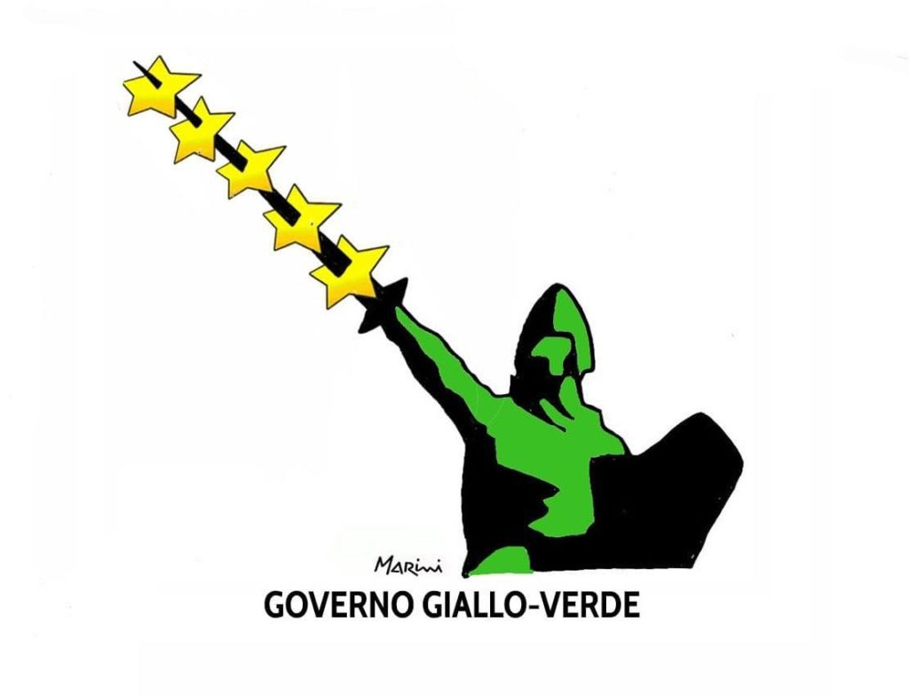 governo giallo verde marini