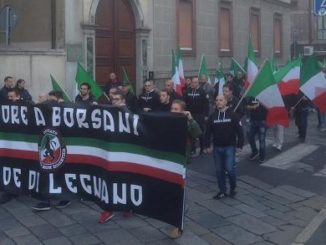 legnano corteo neofascisti antifascisti
