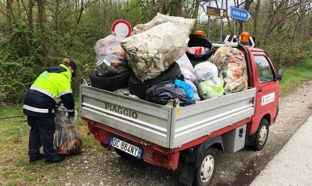 rolley rubati rifiuti malpensa