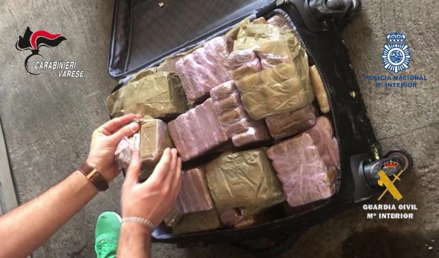 Hashish italia spagna arresti