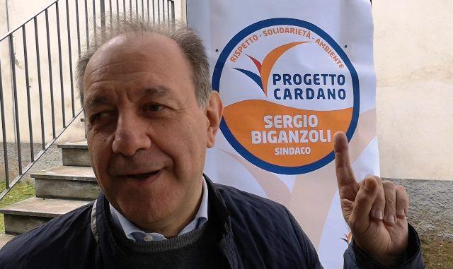 Biganzoli candidato Progetto Cardano