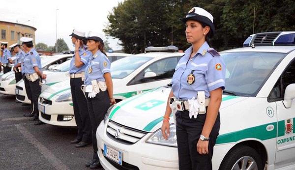 distintivi polizia locale busto